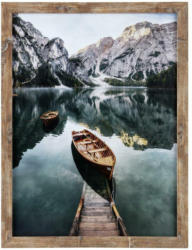 Bilderrahmen 30x40 cm Carla Holz Naturfarben, 32,6x42,6 cm