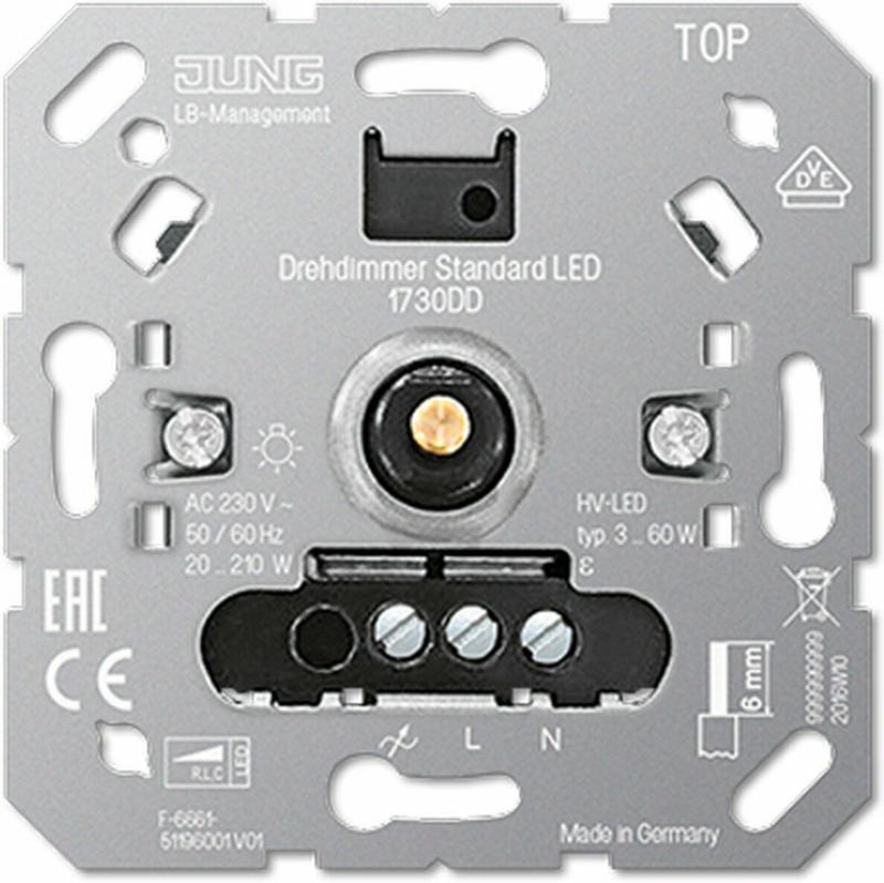 LED-Drehdimmer-Einsatz