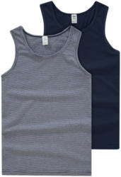 2 Jungen Unterhemden in verschiedenen Dessins (Nur online)