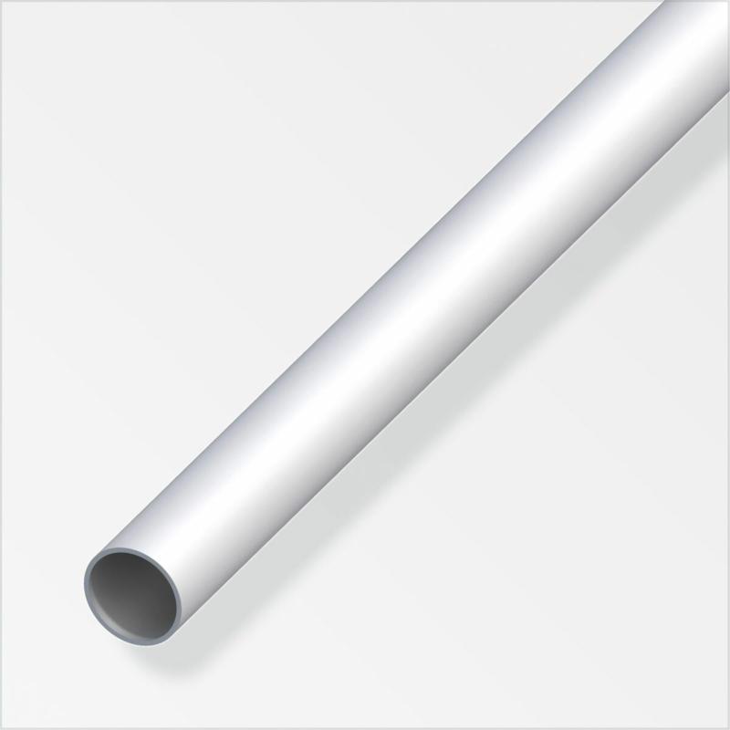 Rundrohr, 10x1mm, 2m, Aluminium, silber 1 cm | 200 cm