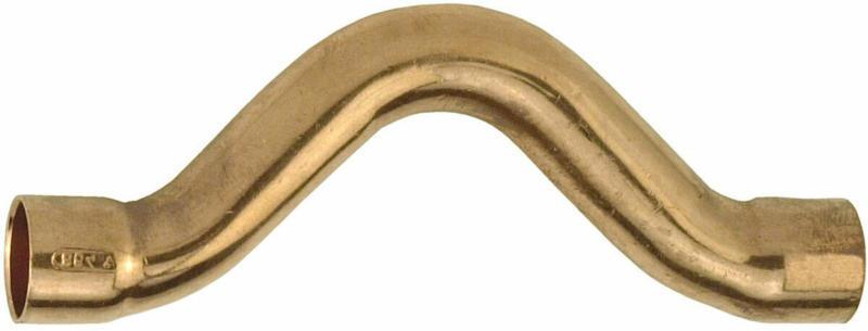 CU Überspring-Bogen, 2 Muffen, 18 mm