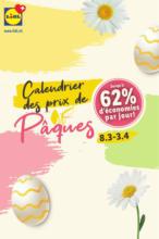 Lidl Calendrier des prix de Pâques