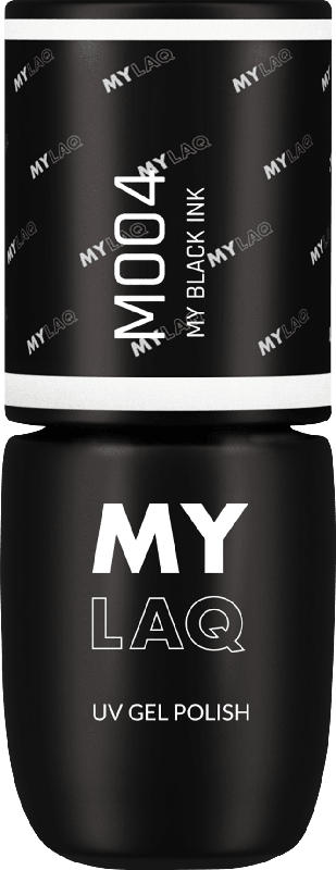 MYLAQ UV Nagellack MY BLACK INK