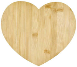 Servierbrett Aus Bambus Regina B/H: ca. 26,5/23 cm, Herzform