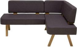 Eckbank Braun Lederlook Sipan 180x140 cm