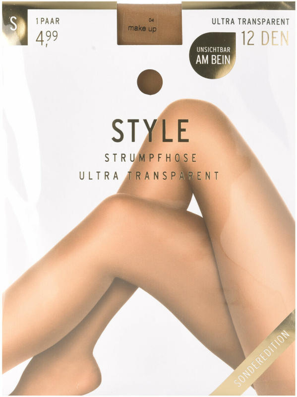 Damen Strumpfhose mit 12 DEN (Nur online)