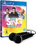 MediaMarkt Let's Sing 2021 mit deutschen Hits [+ 2 Mics] - [PlayStation 4]