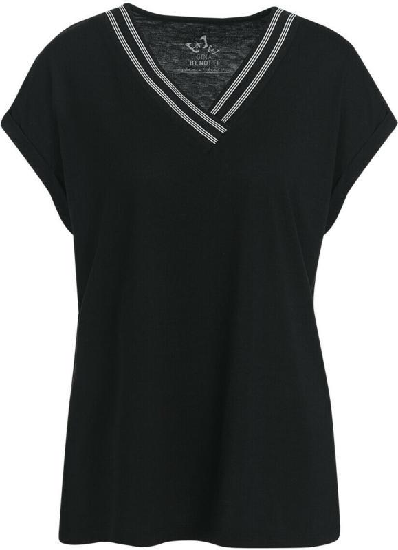 Damen T-Shirt mit V-Ausschnitt (Nur online)