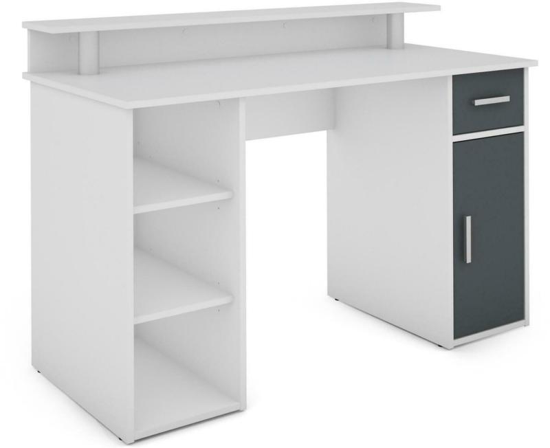 Schreibtisch in Anthrazit/ Weiß   ´Don´