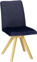 Stuhl in Dunkelblau