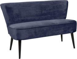 Sitzbank in Blau 'Lord' 2-Sitzer