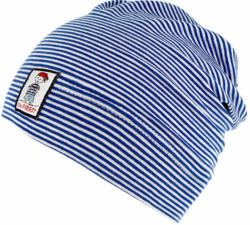 Kinder-Mütze, blau-weiß gestreift blau-weiß gestreift