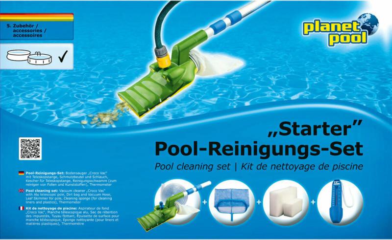 """Pool-Reinigungs-Set """"Starter"""", klein"""