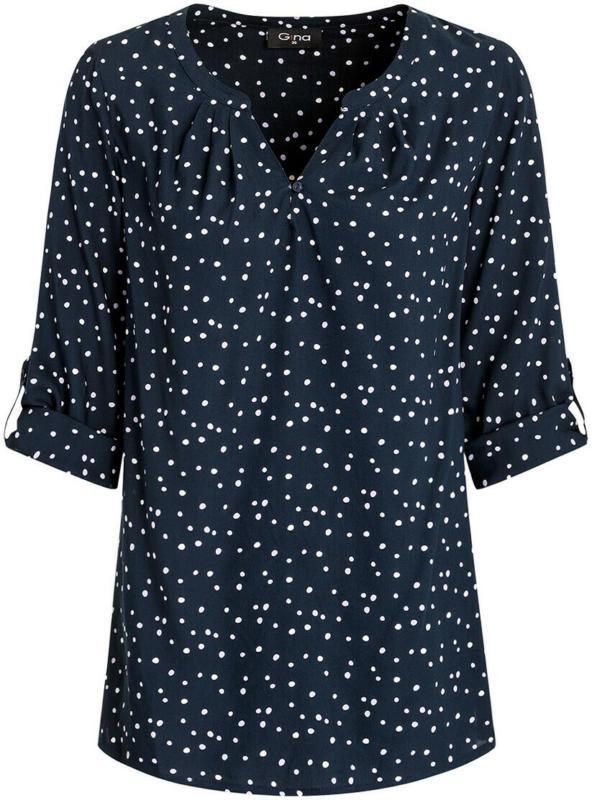 Damen Bluse mit Pünktchen (Nur online)