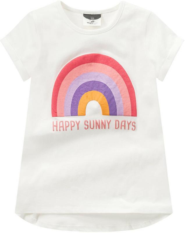 Mädchen T-Shirt mit Regenbogen-Motiv (Nur online)