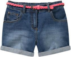 Mädchen Shorts mit Flechtgürtel (Nur online)