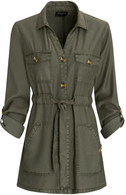 Damen Jacke mit Bindegürtel (Nur online)