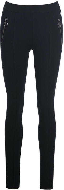 Damen Leggings Fake-Zippertaschen (Nur online)