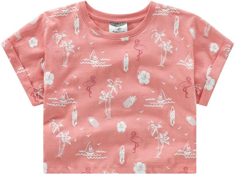 Mädchen T-Shirt mit Allover-Print (Nur online)