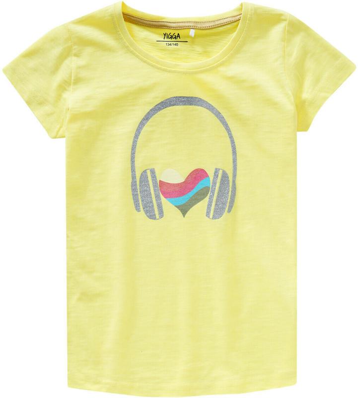 Mädchen T-Shirt mit Glitzer-Print (Nur online)