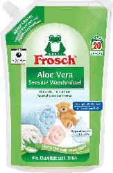 Frosch Sensitivwaschmittel flüssig Aloe Vera