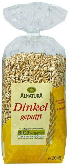 Alnatura Bio Dinkel gepufft