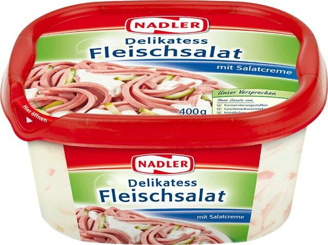 Nadler Delikatess Fleischsalat