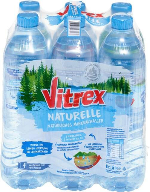 Vitrex Mineralwasser
