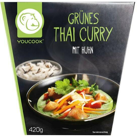You Cook Grünes Thai Curry, Chicken Tikka