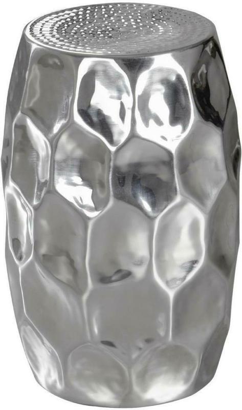 Beistelltisch Orientalisch Jada, Silberfarben