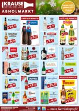 Getränkehaus Krause Flugblatt - März 2021