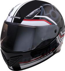 Marushin FullFace 999 RS Comfort, Laser white / red  XS