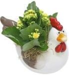 Landi Keramikhuhn bepflanzt P20 cm