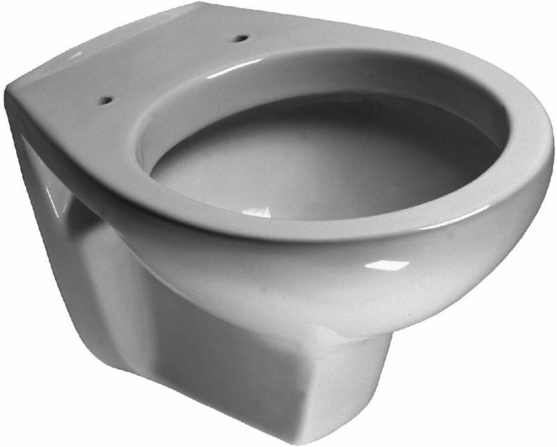 "Wand-WC ""Alpha"", tief, weiß"