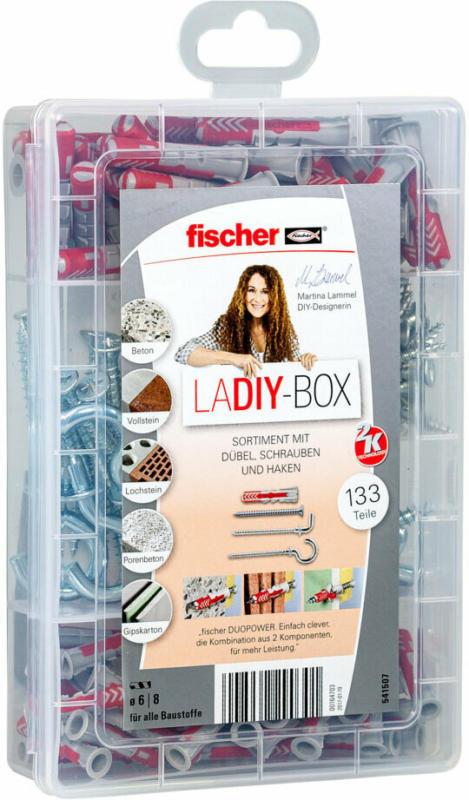 "Sortimentsbox ""LaDIY-Box"", 133-teilig"