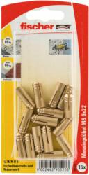 "Messingdübel ""MS"", 6x22 mm, 15 Stück 22 mm"