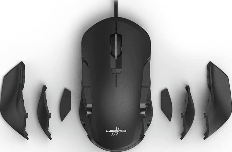 Gaming Maus Reaper 900 Morph, USB, RGB, 16000 DPI, Schwarz