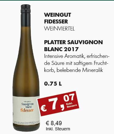 2017 Platter Sauvignon Blanc