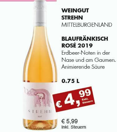 2019 Blaufränkisch Rosé