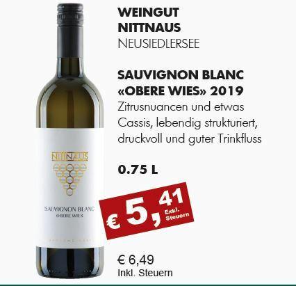 """2019 Sauvignon Blanc """"Obere Wies"""""""