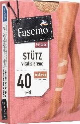 Fascino Stütz Strumpfhose 40 den, Gr. 42/44, make-up