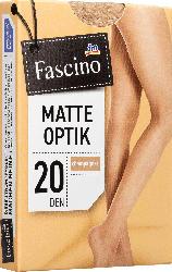 Fascino Strumpfhose matt 20 den, Gr. 42/44, champagner