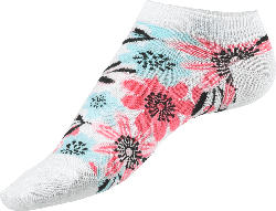 Fascino Sneaker mit Blumen Muster, Gr. 39-42, weiß, bunt