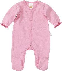 PUSBLU Baby Schlafanzug, Gr. 42/44, in Bio-Baumwolle, pink