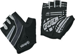 Sherpa Gants de cyclisme unisexe 1/2, noir -