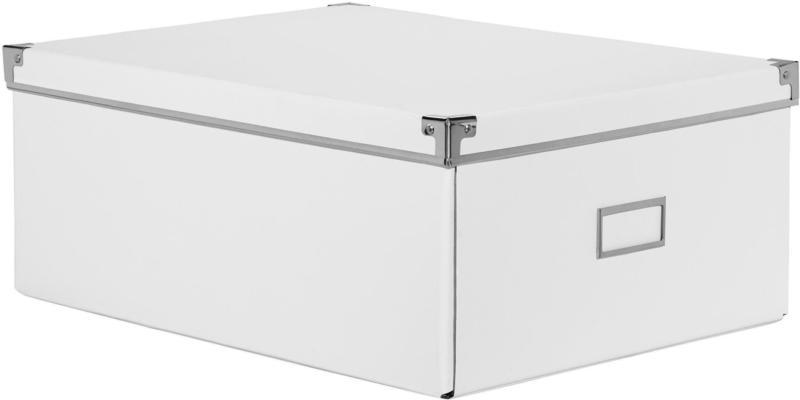 Aufbewahrungsbox Lorenz in Weiß
