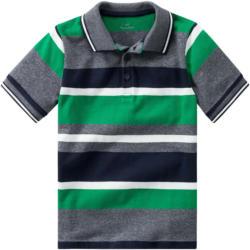 Jungen Poloshirt mit Blockstreifen (Nur online)