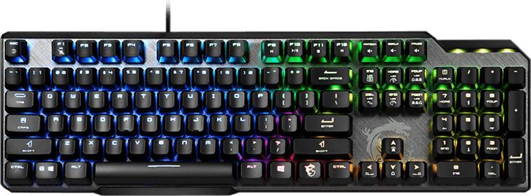 Gaming Tastatur Vigor GK50 ELITE, RGB, Kailh Box White, USB, DE, Schwarz