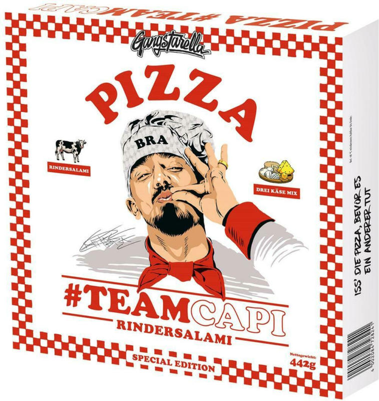 Gangstarella Pizza Rindersalami