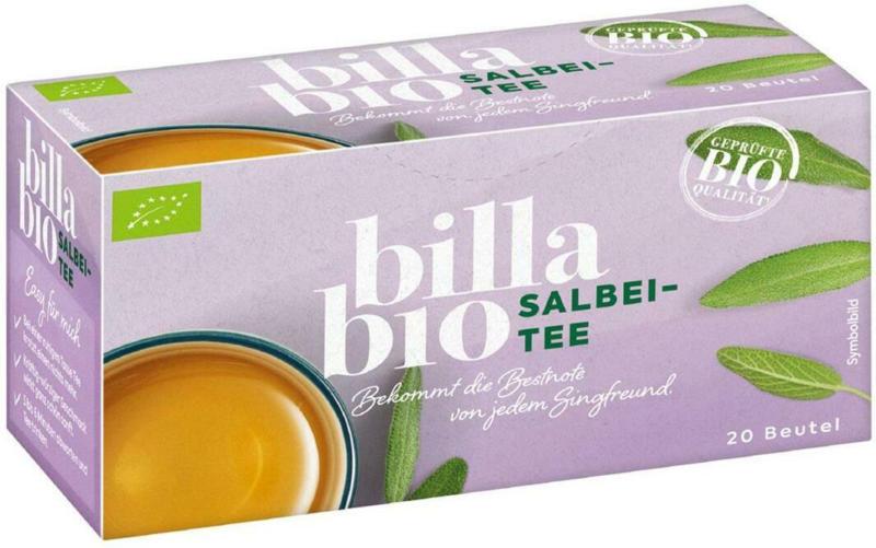 BILLA Bio Salbeitee